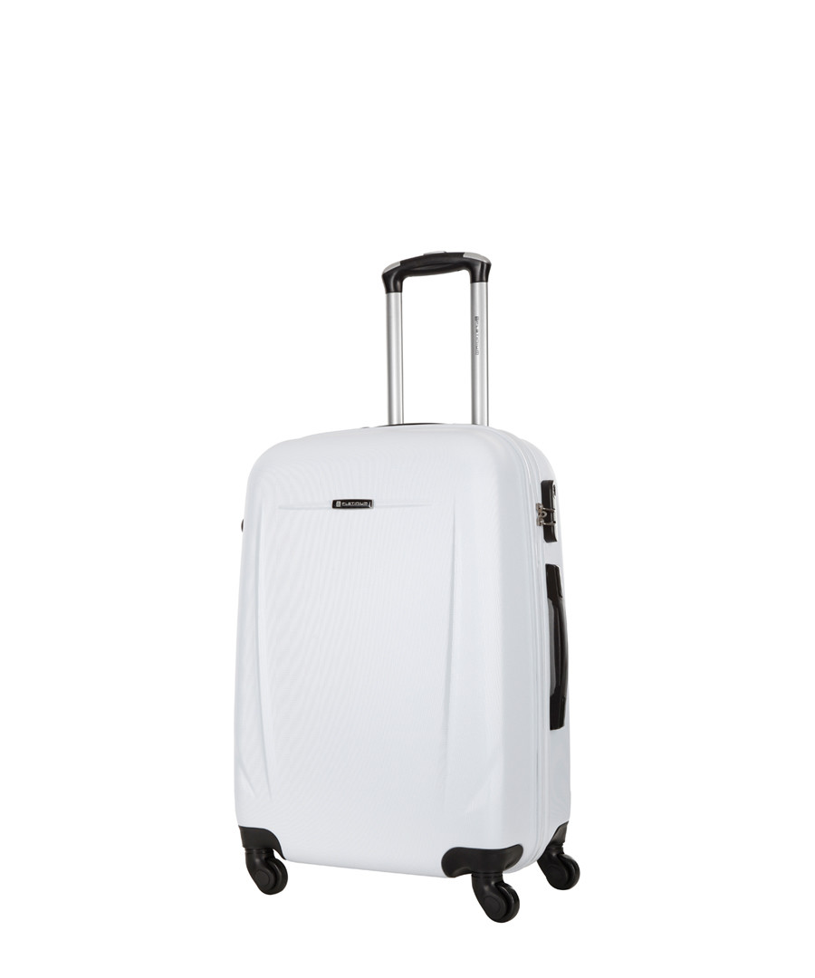 Bedford white spinner suitcase 60cm Sale - platinium