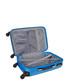 Delfino blue spinner suitcase 70cm Sale - platinium Sale