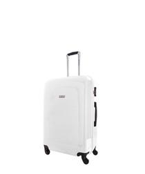 Clarks white spinner suitcase 60cm