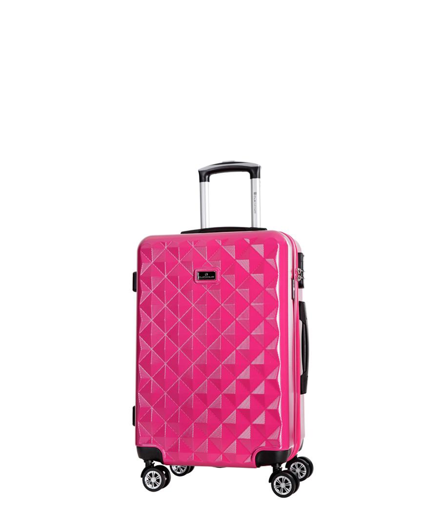 Gregoria pink spinner suitcase 70cm Sale - platinium