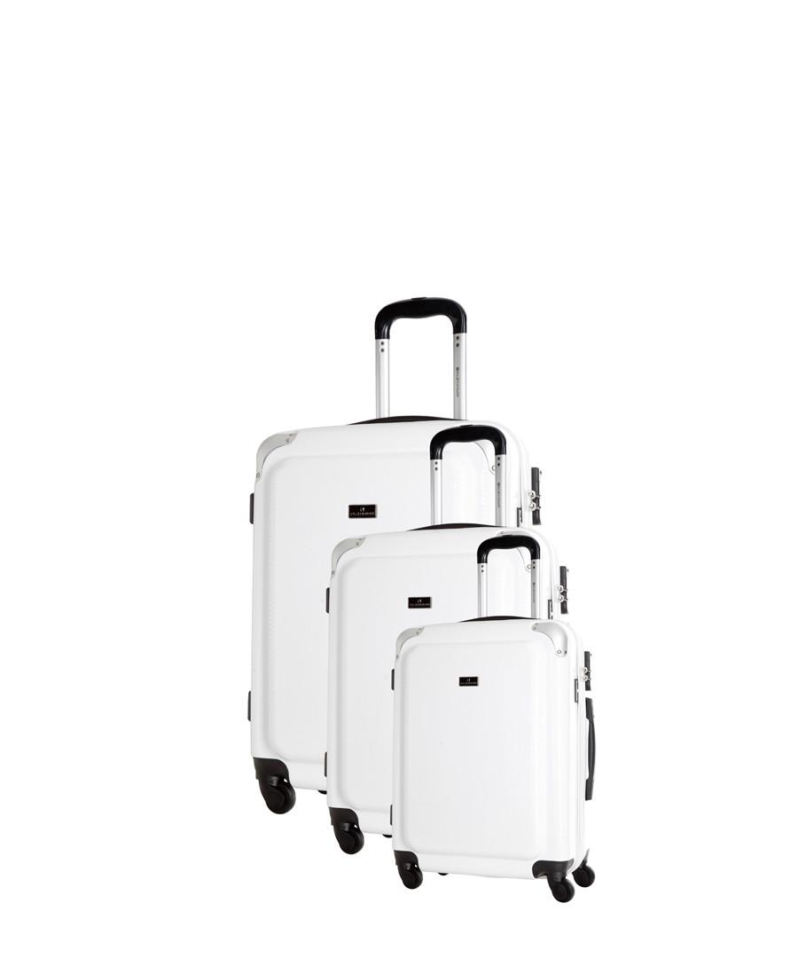 3pc Robinson white spinner suitcase set Sale - platinium