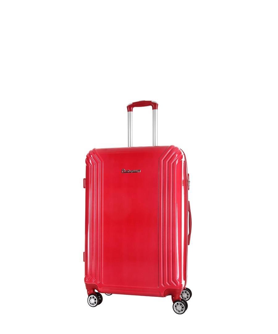 Valley red spinner suitcase 70cm Sale - platinium