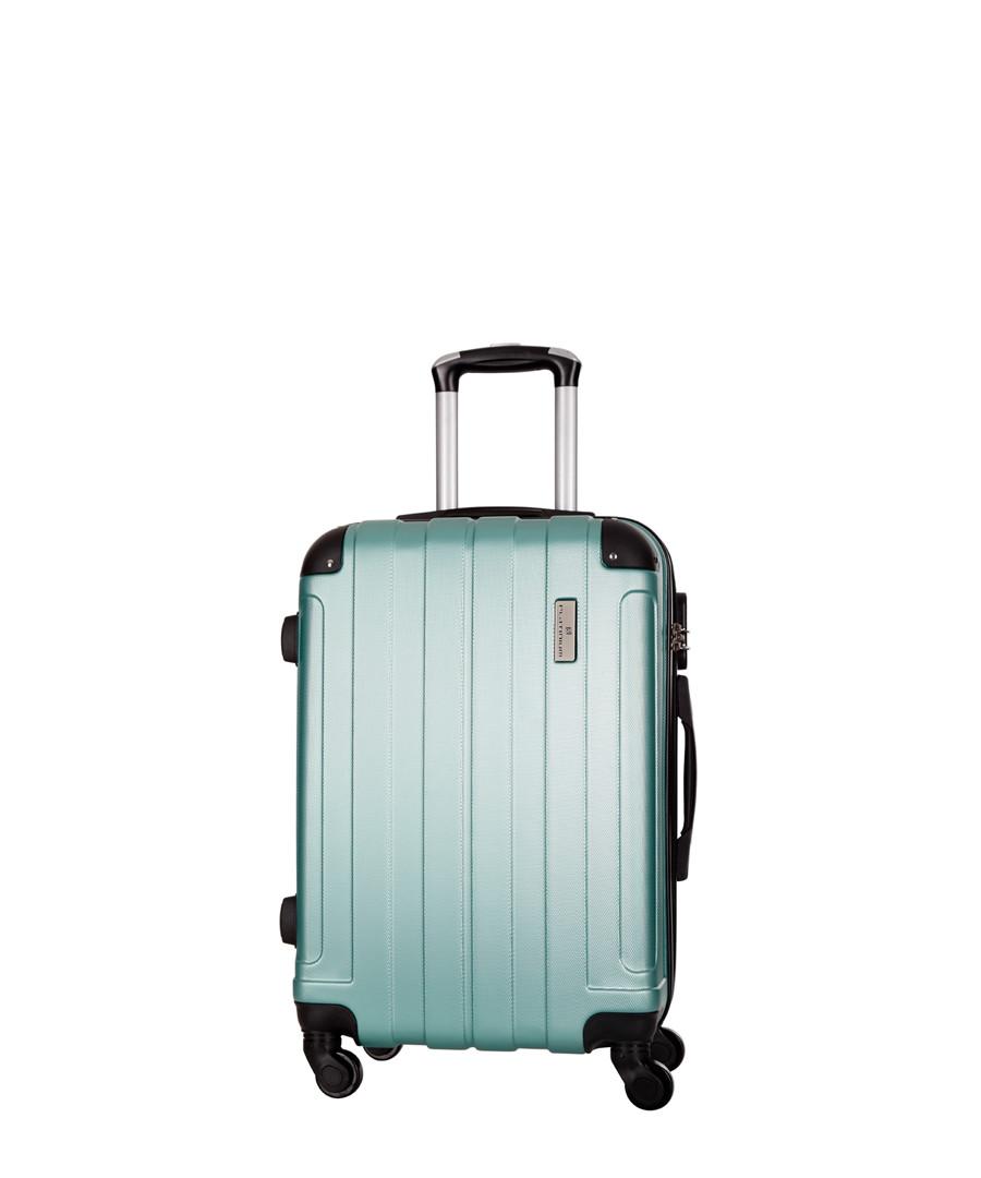 Delos green spinner suitcase 66cm Sale - platinium