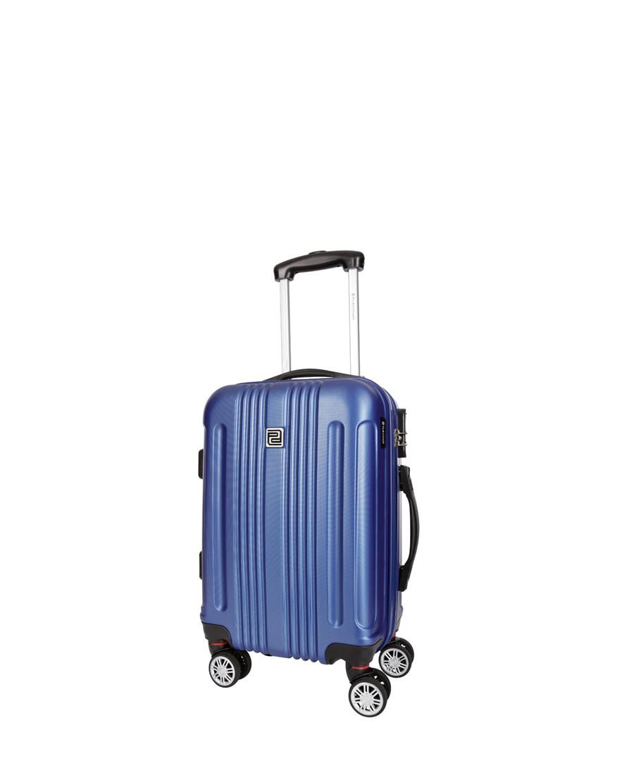 Stafford blue spinner suitcase 46cm Sale - platinium
