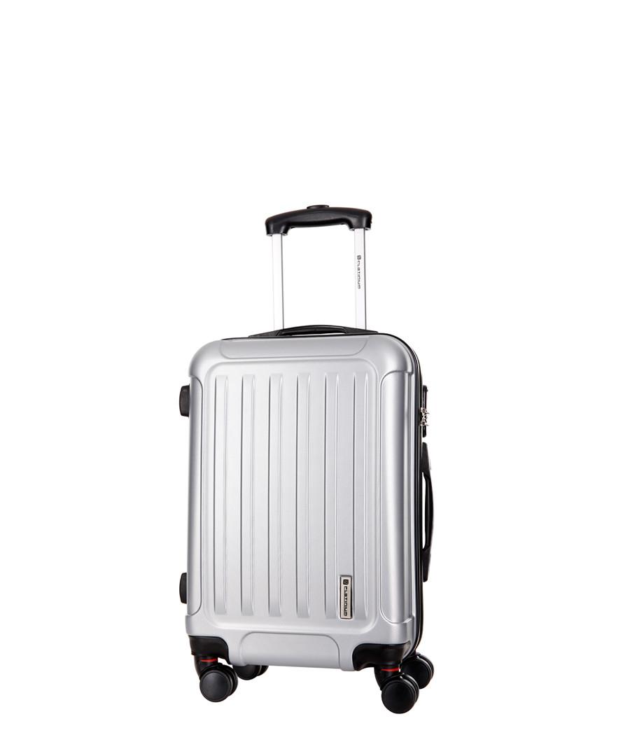 Amarillo silver spinner suitcase 56cm Sale - platinium