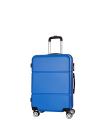 Alcoy blue spinner suitcase 76cm