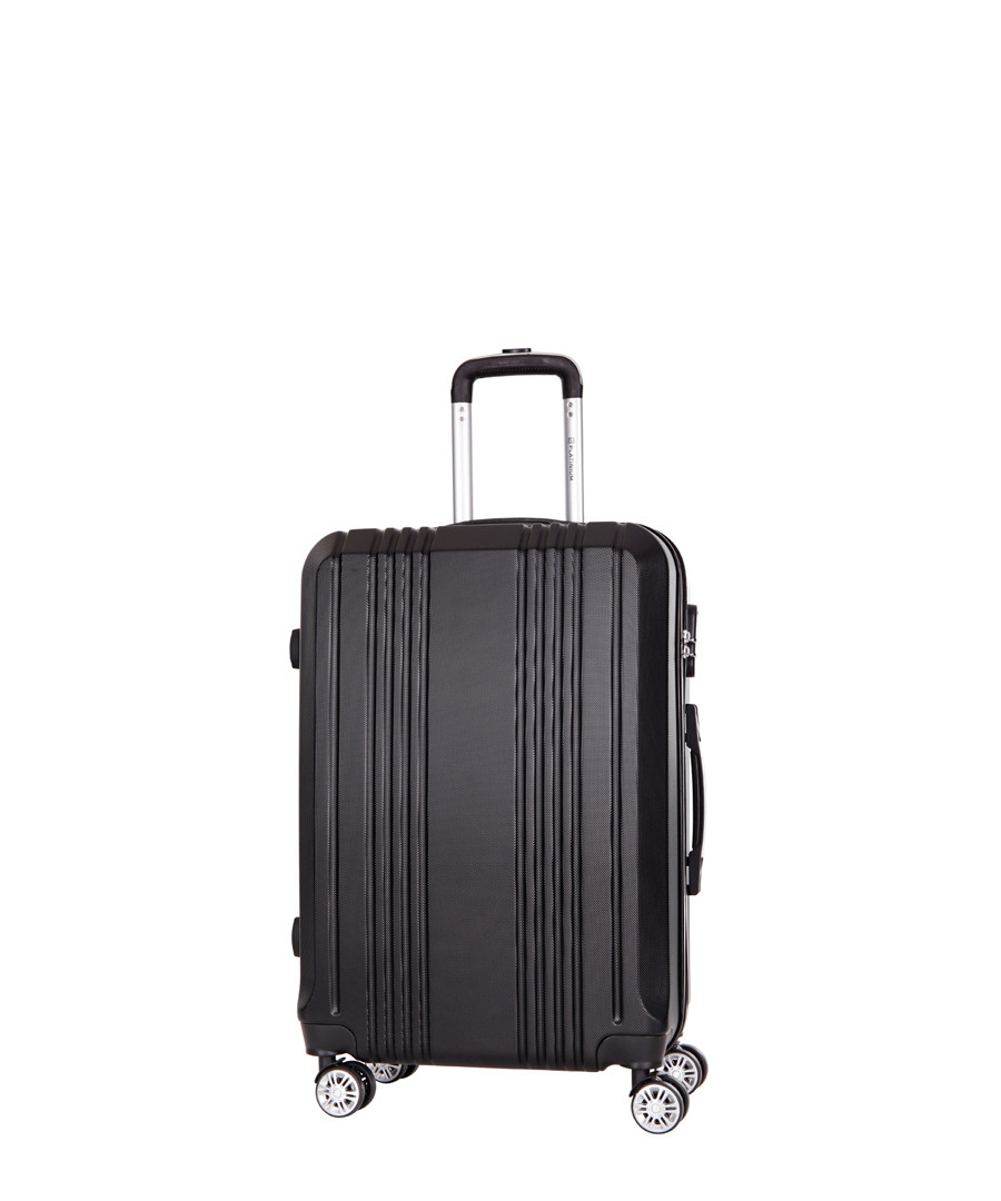 Avila black spinner suitcase 66cm Sale - platinium