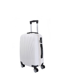 Fortaleza beige spinner suitcase 56cm
