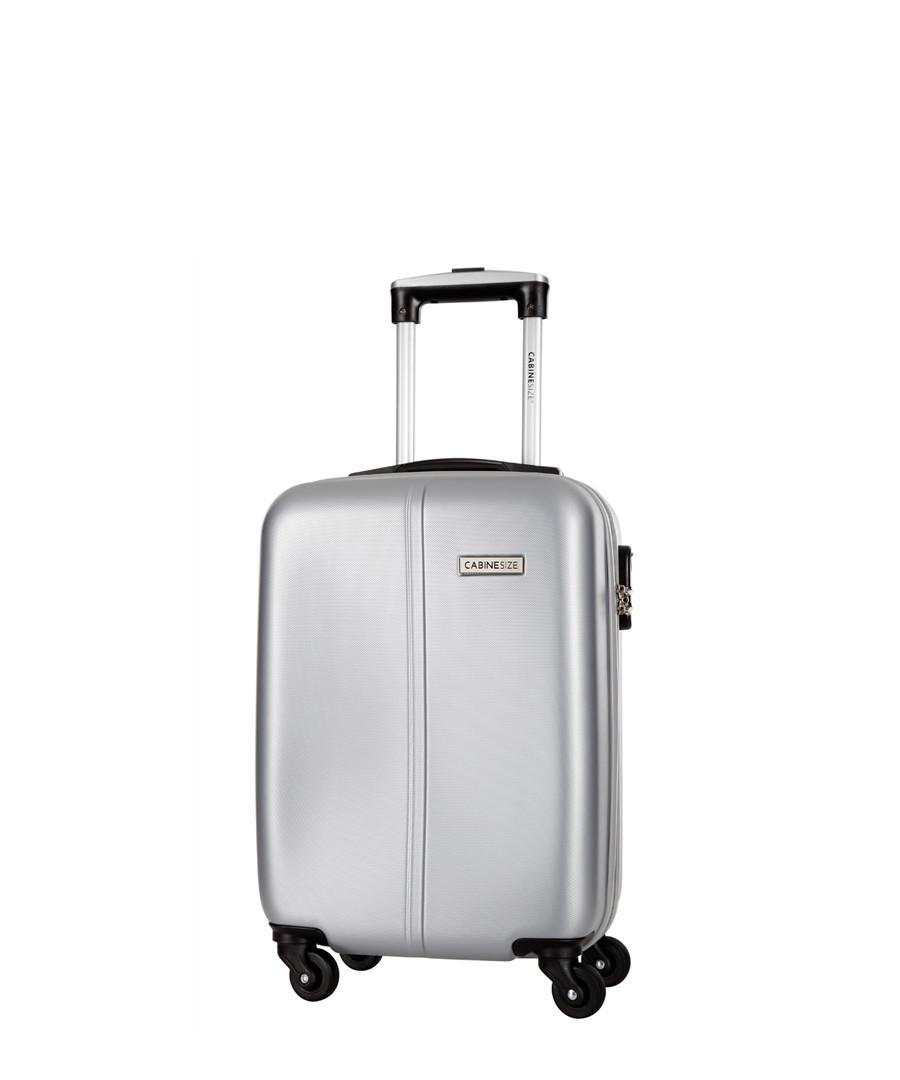 Juice silver-tone spinner suitcase 46cm Sale - cabine size