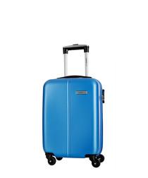 Juice blue spinner suitcase 46cm