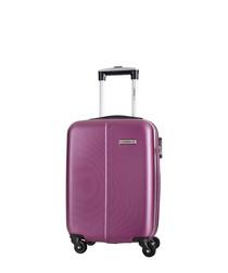 Juice violet spinner suitcase 46cm
