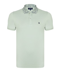 Mint pure cotton polo shirt