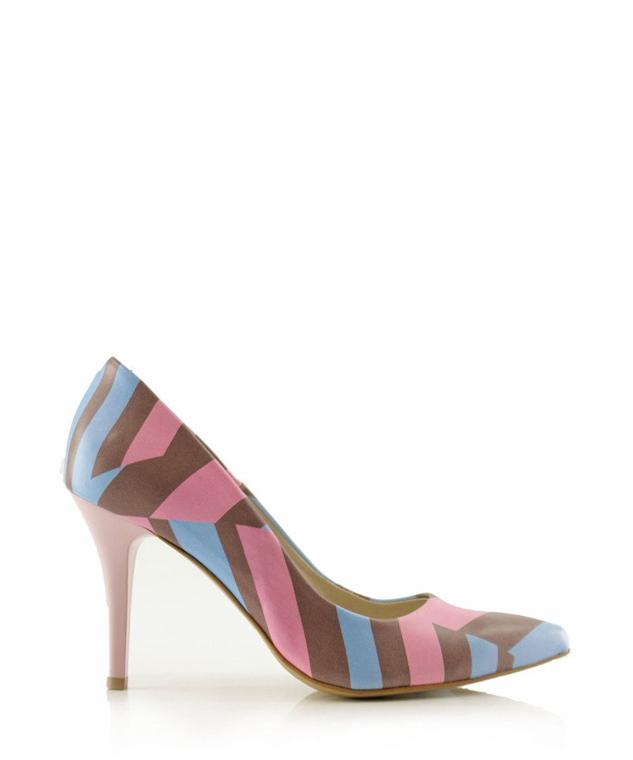 Madagascar patterned court heels Sale - BOSCCOLO