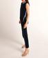 Navy & blue cotton split side jumper Sale - Rodier Sale