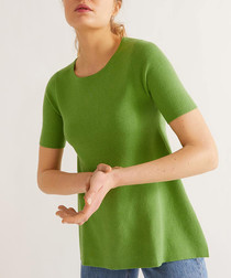 Anise cotton & silk T-shirt