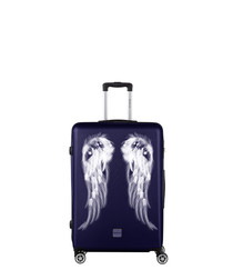 Athena navy spinner suitcase 75cm