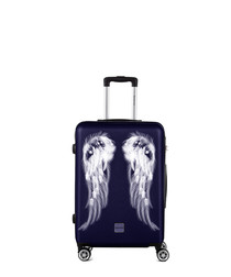 Athena navy spinner suitcase 65cm