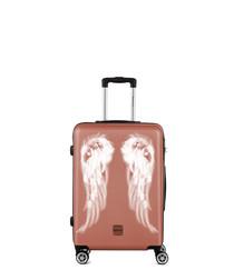 Athena rose-tone spinner suitcase 65cm