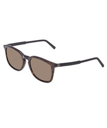 Dark Havana squared sunglasses