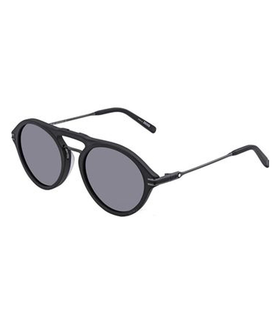 Black & grey mirrored sunglasses Sale - montblanc