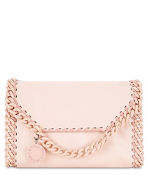 Pink chain shoulder bag