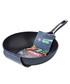 Grey aluminium wok 28cm Sale - pyrex Sale