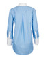 Clarke blue & white silk blouse Sale - equipment Sale