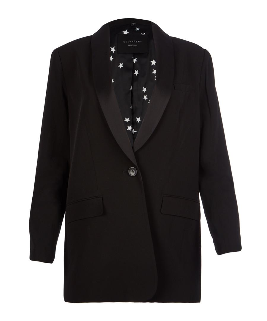 Quincy black wool blend blazer Sale - equipment