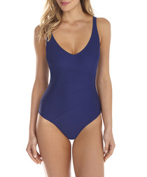 Just Plain navy swimsuit
