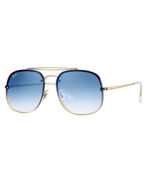 Blaze General blue sunglasses
