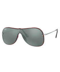 Red & grey wing sunglasses