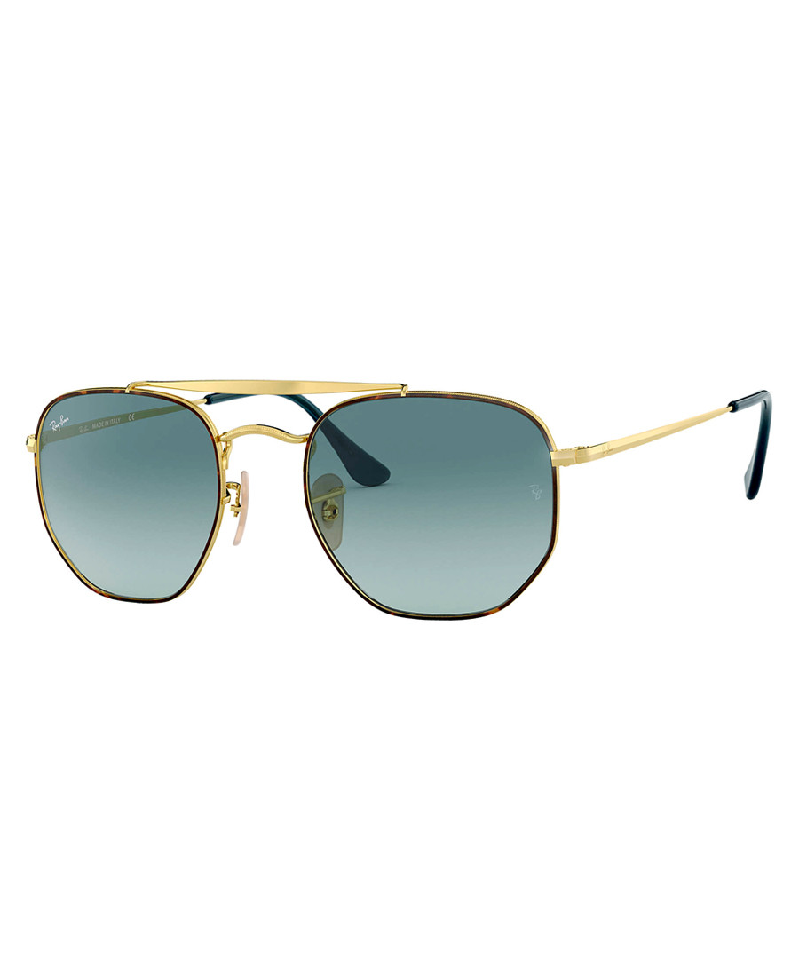 The Marshal gold-tone sunglasses Sale - ray-ban