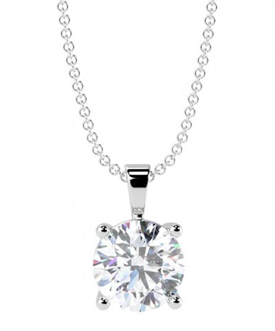 0.25ct diamond solitaire pendant Sale - buy fine diamonds