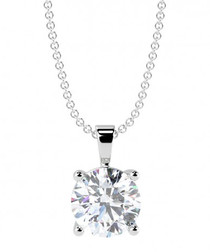 0.25ct diamond solitaire pendant