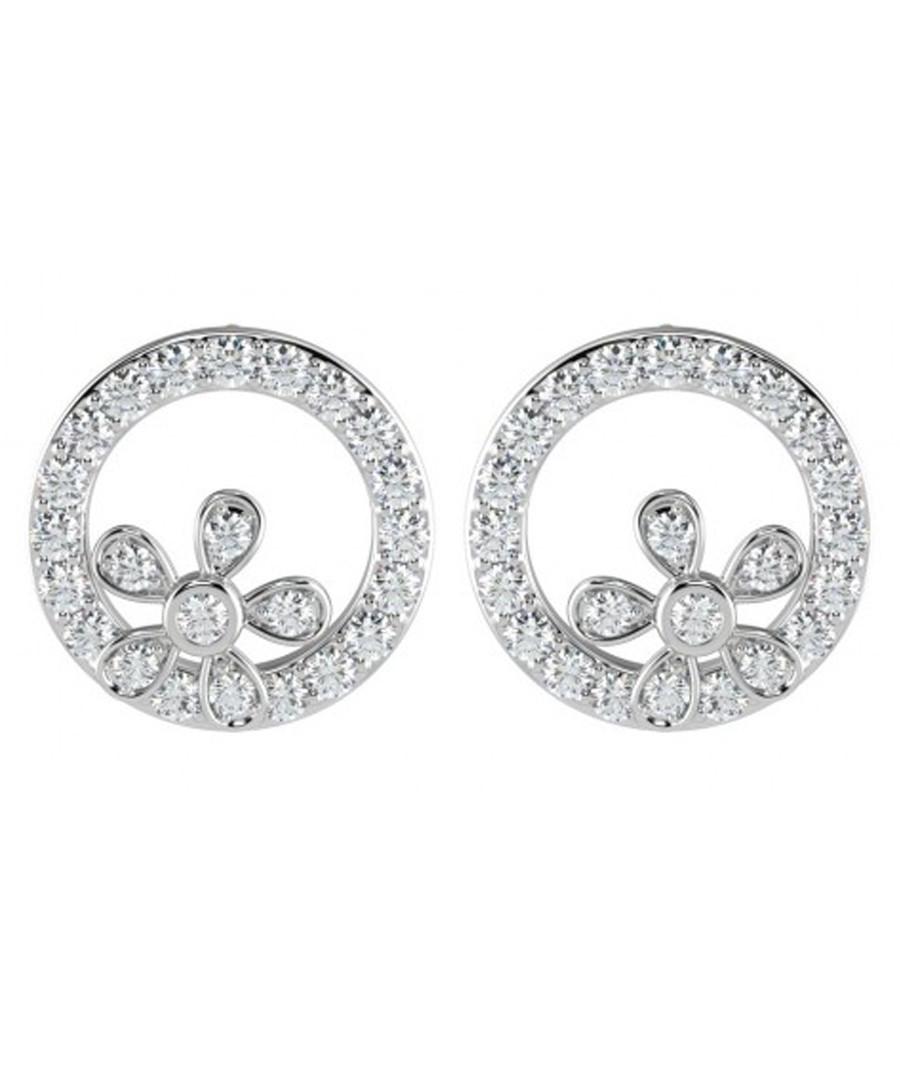 0.30ct floral diamond earrings Sale - Buy Fine Diamonds