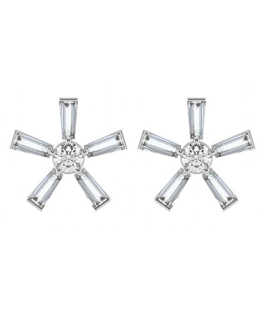 0.20ct baguette diamond flower earrings Sale - Buy Fine Diamonds