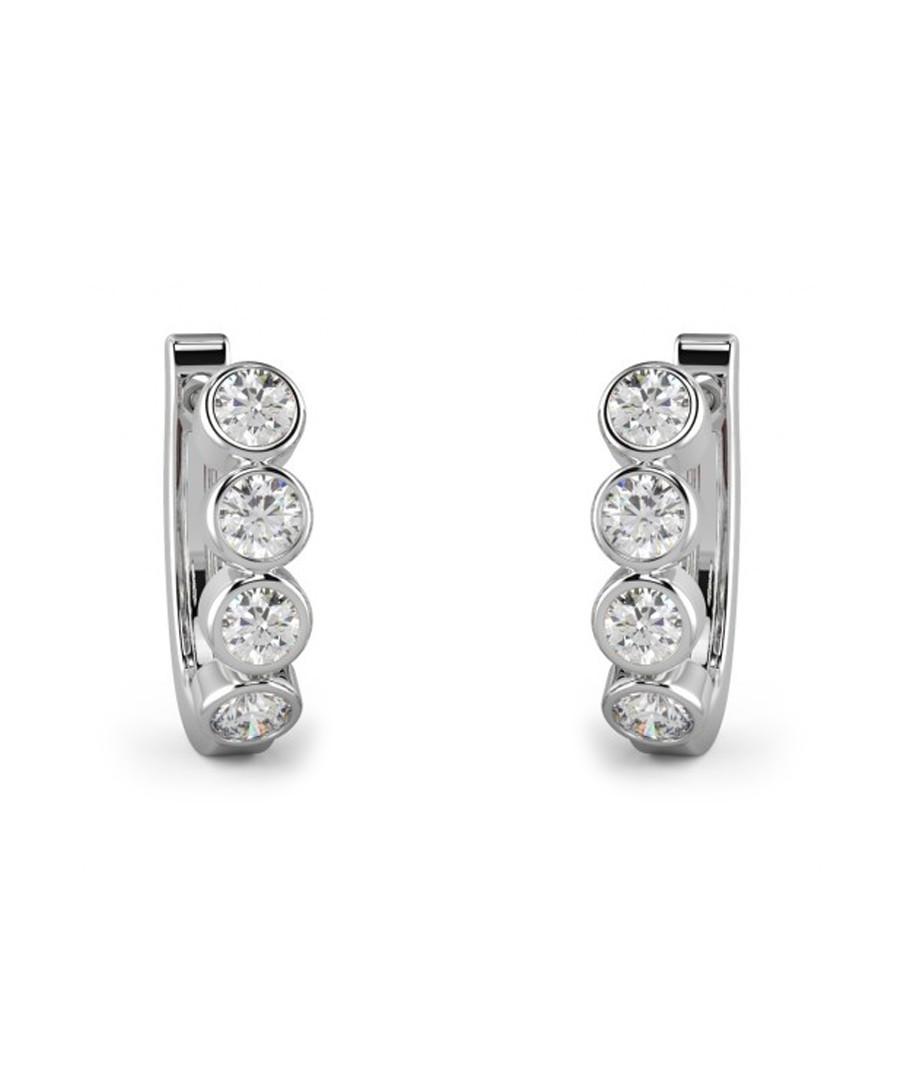 0.50ct round diamond hoop earrings Sale - Buy Fine Diamonds