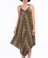 Brown leopard print drape jumpsuit Sale - Dewberry Sale