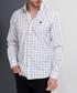 White check cotton blend shirt Sale - Dewberry Sale