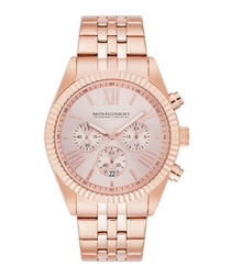 Saint Helens rose gold-tone watch