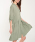 Khaki button-up half-sleeve dress Sale - dioxide Sale