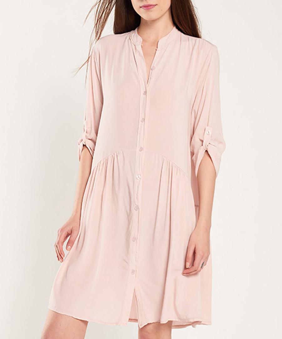 Rose button-up half-sleeve dress Sale - dioxide