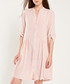 Rose button-up half-sleeve dress Sale - dioxide Sale