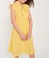 Yellow cap sleeve bow-tie dress Sale - dioxide Sale
