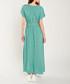 Emerald & green print maxi dress Sale - dioxide Sale
