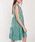 Emerald print cap sleeve mini dress Sale - dioxide Sale