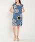 Azure pure cotton bubble mini dress Sale - dioxide Sale