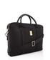 black canvas logo briefcase Sale - ferrari Sale