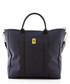 navy canvas logo tote bag 39cm Sale - Ferrari Sale