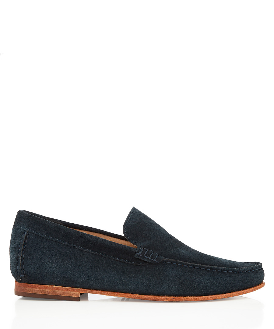 Hail navy suede loafers Sale - bruno magli